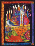 "Laurel Burch Card Birthday ""You Shine Brighter"" - BDG13234"
