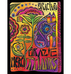 Laurel Burch Thank You Note Cards 8 in a Package - BTN35486