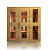 Heritage 4 Person Infrared Sauna - Clearance