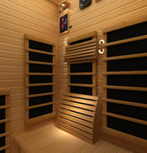Ergonomic Back Support and Head Rest for Silver Range Saunas
