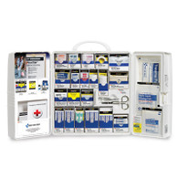 SmartCompliance First Aid Cabinet with Medications - Plastic, FAO Managed Refills