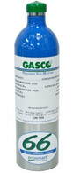 EcoSmart Refillable Gas Cylinders 4 Gas Calibration Mix 66L