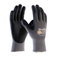 G-Tek® MaxiFlex™ Black Micro-Foam Nitrile-Coated Nylon Gloves (Per DZ)