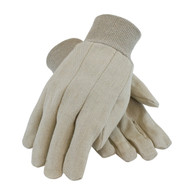 Economy Grade Cotton Canvas Single Palm Glove (Per DZ)