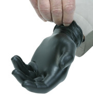 5 Mil Black Nitrile Gloves, Powder-free, Non-medical (Per BX)