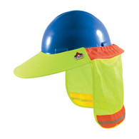 EZ-Cool® FR Treated Hi-Vis Hard Hat Visor