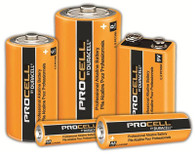 Procell by Duracell Alkaline Batteries (Per PK)