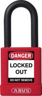 Non-Conductive 74/40 Safety Lock - Red