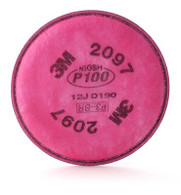 3M™ P100 Particulate Filter with Nuisance Level Organic Vapor Relief 2097 (Per PK)