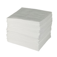 "Oil Only Sorbent Pads (Medium-Weight) 15""x17"" (Per BG)"