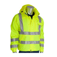 ANSI Class 3 Heavy Duty Waterproof Breathable Jacket
