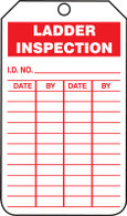 Ladder Inspection Tags - Cardstock (Per PK)