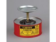 Plunger Dispensing Can, 1 quart (1L), Steel