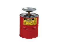 Plunger Dispensing Can, 1 Gallon (4L), Steel
