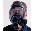 Shown with the respirator (not included).