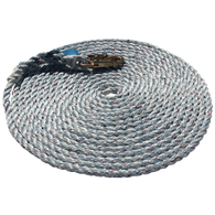 Rope 50′ Polyester Lifeline 5/8 w/ 1 Snap Hook