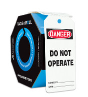 Danger Do Not Operate Tags (100/RL)