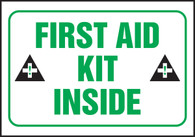 First Aid Kit Inside Label (5/PK)