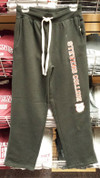 80 cotton/20 poly straight leg cozy warm sweat pant