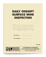 APC S-5000: Daily Onshift Surface Mine Inspection