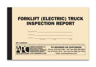 APC 20089333: Forklift (Electric) Truck Operator's Pre-Operation Inspection Report