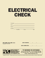 APC UMS-1006: Electrical Check (APC UMS-1006) — Front Cover