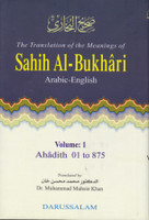 Sahih Bukhari (9 Vol) Arabic-English Detailed Complete Set