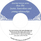 Justice, Benevolence And Joining Relationship CD
