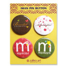 Iman Pin Button Set