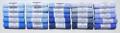 25 Piece Blue