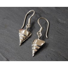 "TITANIC ""Bow of the Boat"" Sterling Silver Earrings"