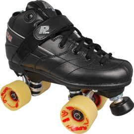 Rock GT-50 Derby Skates with Atom Super-G Wheels