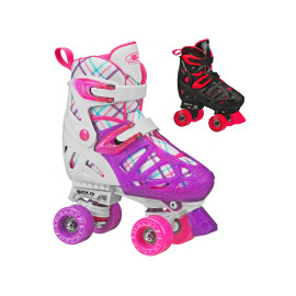 Pacer XT-70 2.0 Adjustable Quad Skates