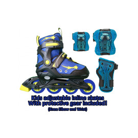 Lenexa Apollo Adjustable Inline Skates Combo