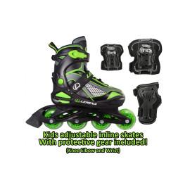 Lenexa Viper Adjustable Inline Skates Combo