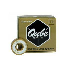 Sure Grip QUBE Gold Swiss  Bearings (16 pack)