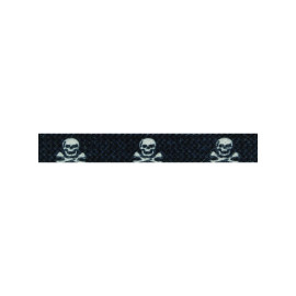 Derby Laces - Thin Skull and Cross Bones