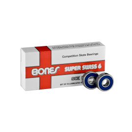 Bones Super Swiss 6 Bearings (16 pack)