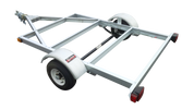 4' X 6' Galvanized Kit trailer Assembly required Ships in two boxes.