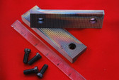 Starrett 614-1/2 and 624-1/2    (4-1/2 inch) Serrated Vise Jaws