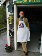 Peter in Nellie Apron