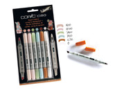 COPIC CIAO 5 + 1 - SCRAP & STEMPELSET 1