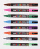 UNI POSCA PC-3M – FINE BULLET MARKERS – 1.5MM/27 COLOURS