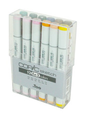 Copic Sketch 12 Pen Set - Ex-Set 2