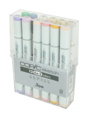 Copic Sketch 12 Pen Set - Ex-Set 3