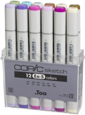 Copic Sketch 12 Pen Set - Ex-Set 5