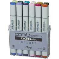 Copic Sketch 12 Pen Set - Ex-Set 6