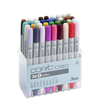 COPIC CIAO 36 PEN SET - 36 E