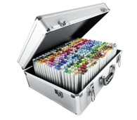 COPIC SKETCH SUITCASE - WITH 358 COLOURS  ( RRP 3087.50 )   SALE