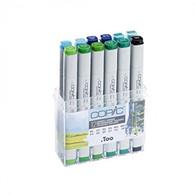 COPIC MARKER - 12 PEN - ENVIRONMENT COLOURS SET